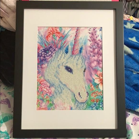 Unicorn diamond art Mystical Magical Sparkly Gift